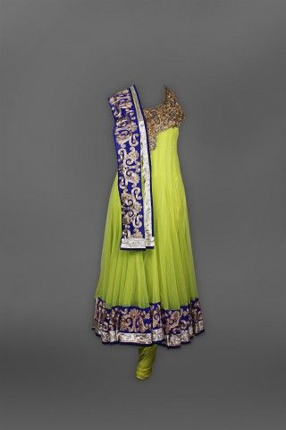 Featuring this beautiful Green Anarkali in our wide range of Suits. Grab yourself one Now!