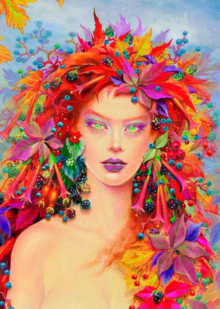Maxine gadd pintura fotograf a esculturas pinterest for Pintura color vison
