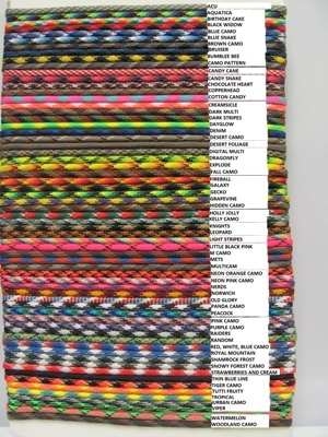1000 Images About Paracord Charts Amp Accessories On Pinterest