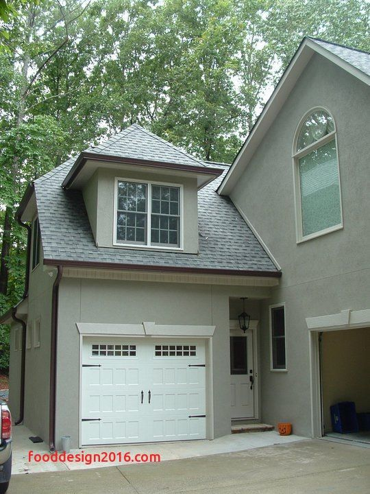 One Car Garage Door Lovely Adding Attached With Breezeway Pictures