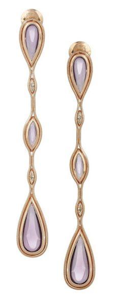Amethyst and diamond earrings http://rstyle.me/n/gba6rr9te
