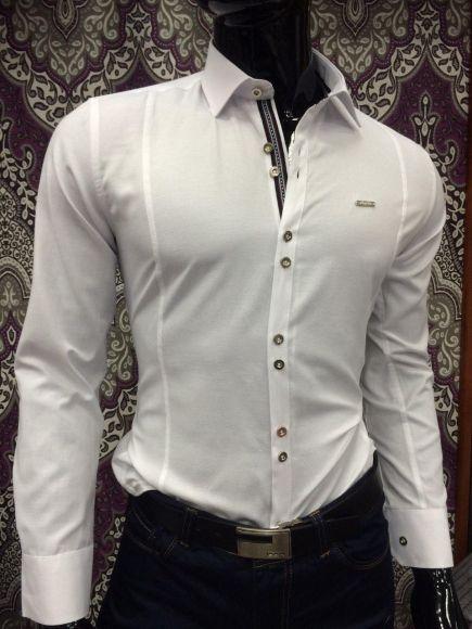 Koszula Męska Sedna TR8046  _A11 (M-3XL) BIAŁY