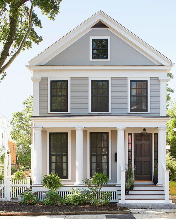 Best 25+ Black Trim Exterior House Ideas On Pinterest