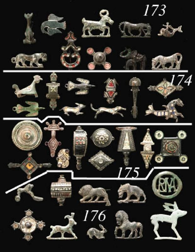 Roman and Merovingian Brooches 1st-6th Century AD . https://www.facebook.com/pages/Merovingians-The-Once-The-Present-Future-kings/471707109534948?hc_location=timeline
