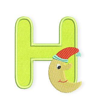 Der Mond ist aufgegangen… zusammen mit dem H vom Baby-Alphabet › BERNINA Blog