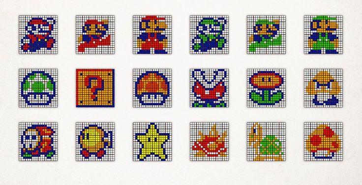 Rubik's Cube Art by Cube Works Studio