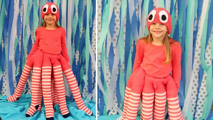 Un costume de pieuvre