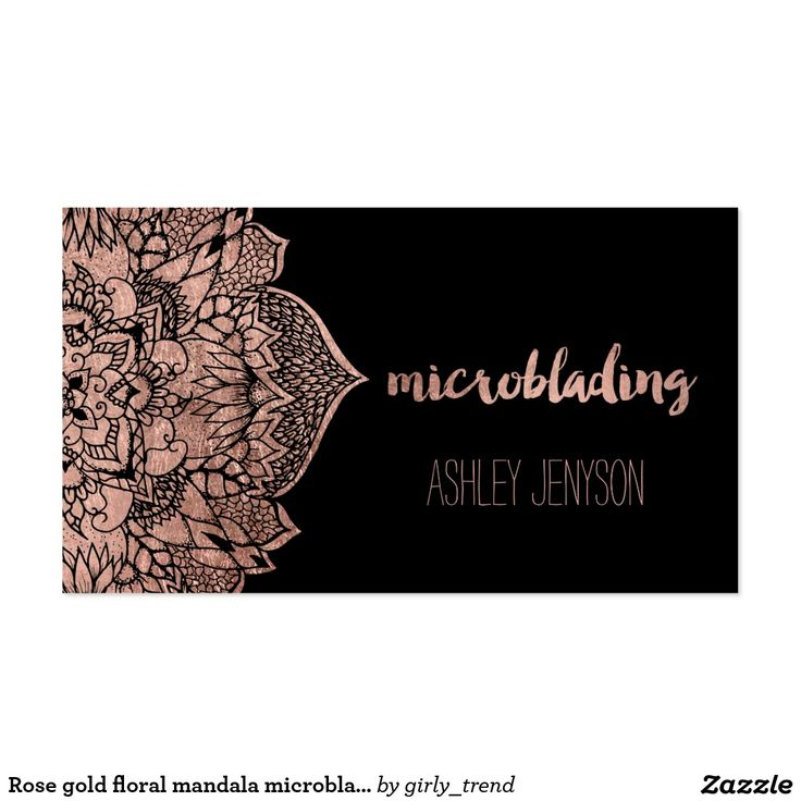 18 best Microblading business cards images on Pinterest ...