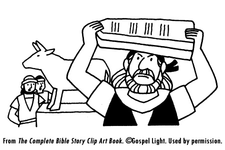 moses golden calf coloring pages - photo#25