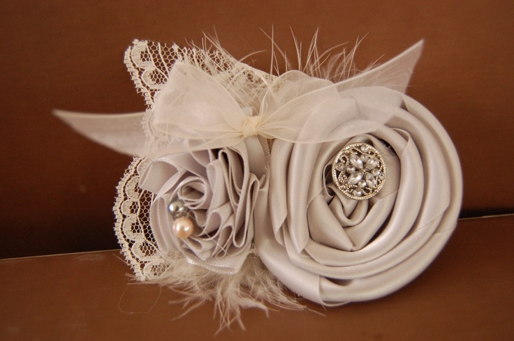Audrey hair sprinkles fabric flower headband