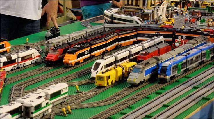 Circuit de train Briqu'Expo Diémoz 2015