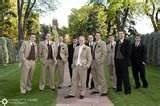 Image detail for -Groomsmen and ushers in tan and brown
