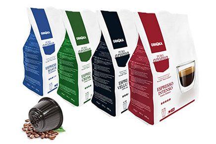 Capsule caffè compatibili Nescafe Dolce Gusto cialde compatibili dolce gusto nescafe gimoka puro aroma compatibili nescafe_ dolce gusto 6 confezioni a scelta
