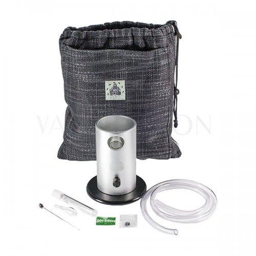 Da Buddha desktop Vaporizer cannabis grey bag and accessories