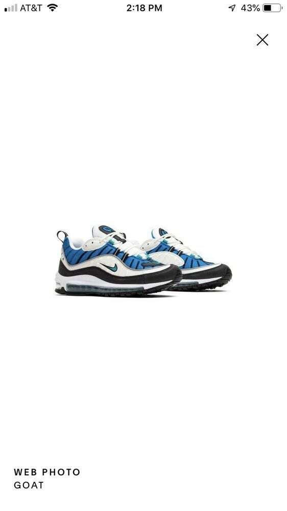 best sneakers b462a 4c113 Nike Air Max 98 Blue Nebula - Nike Airs (This is a link to ...