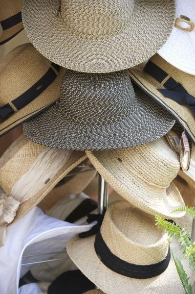Don't be afraid to try a summery hat this season. #style #sunprotection #accessories