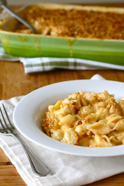 Classic Mac and Cheese from Annie's Eats.    I just made this for Christmas Eve dinner yesterday and everyone loved it <3