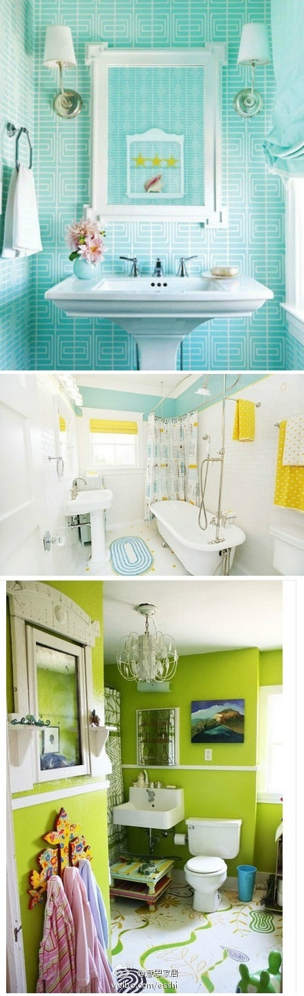 Green Bathroom Color Ideas best 25+ lime green bathrooms ideas on pinterest | green painted