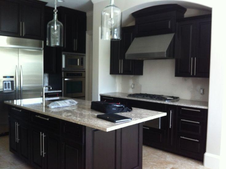 Kitchen Colors With Dark Cabinets exellent kitchen decorating ideas dark cabinets inside inspiration