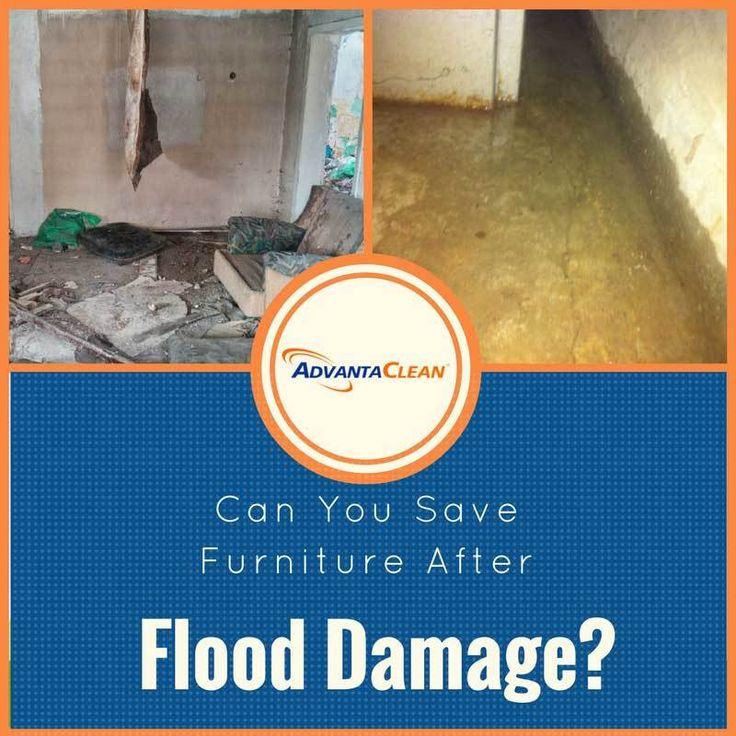 Can You Save Furniture After Flood Damage?