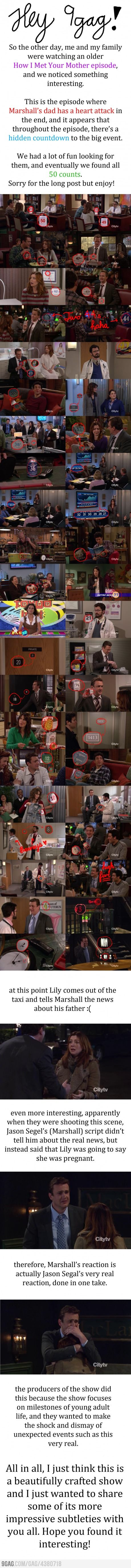 Hidden messages in How I Met Your Mother! (found by other pinner)