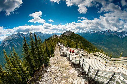 Sulphur Mountain - Banff, Alberta, Canada    I have been here. :)