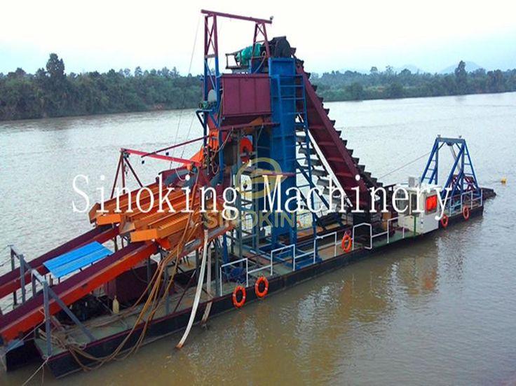 150T/h gold dredger