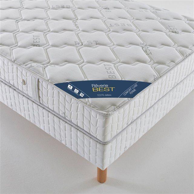 Matelas latex confort luxe ferme, haut. 21 cm Reverie | La Redoute