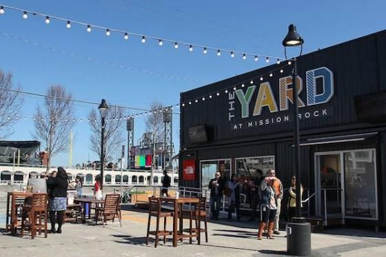The Courtyard, Off the Grid's First Permanent Home, Opens in Mission Rock | 7x7