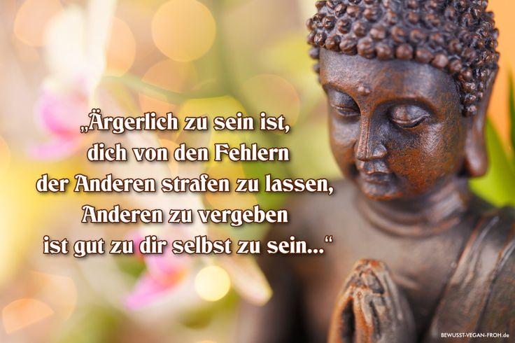 Buddhas wunderschöne Lektion über die Vergebung - ☼ ✿ ☺ Informationen und Inspirationen für ein Bewusstes, Veganes und (F)rohes Leben ☺ ✿ ☼