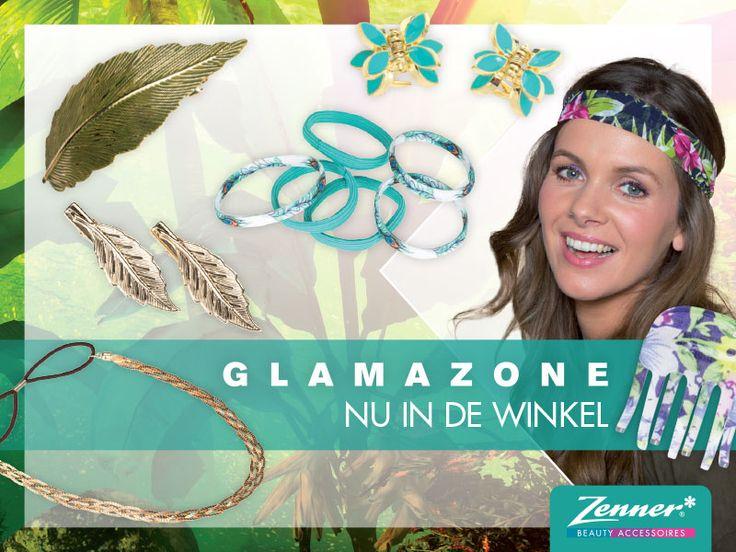 Waan je in een tropisch regenwoud met de Glamazone Collectie van Zenner! Vanaf nu in de winkels
