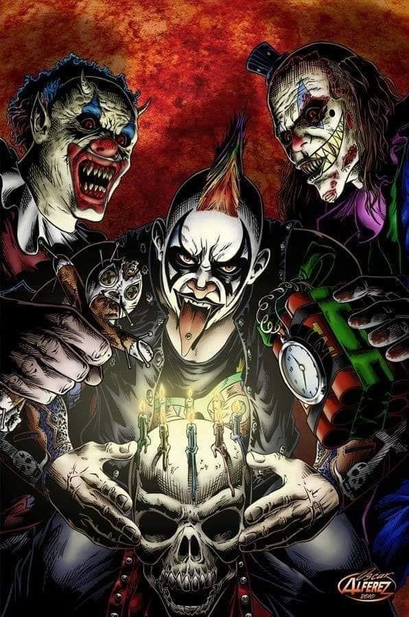 Psycho Circus Imagenes De Lucha Libre Lucha Libre Triple A Personajes De Terror