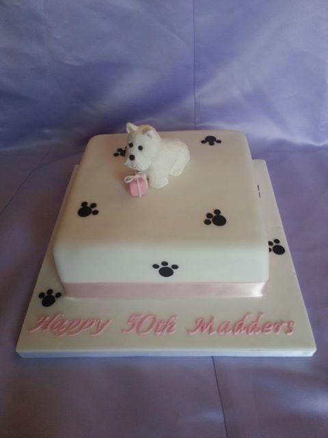 Westie cake Cake inspirations Pinterest Cake and Recipes