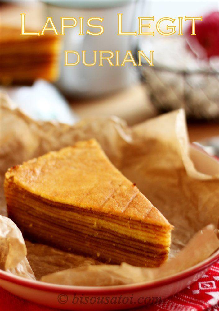Lapis Legit Durian