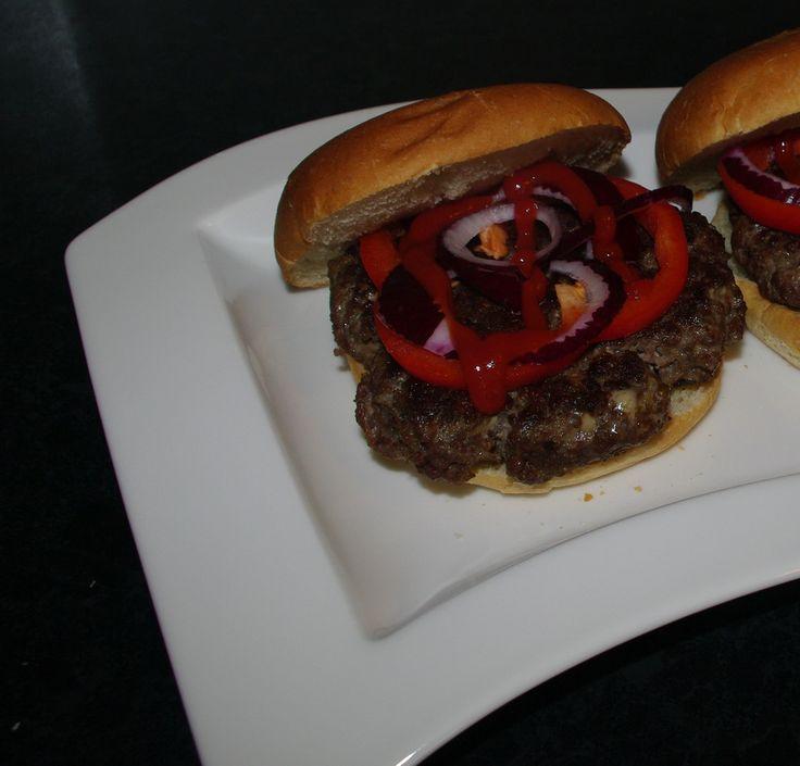 Hjemmelaget elgburger