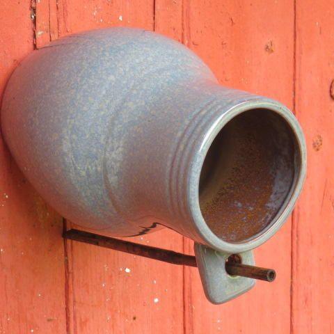 Colonial Bird Bottle Pottery Replica Birdhouse Martin