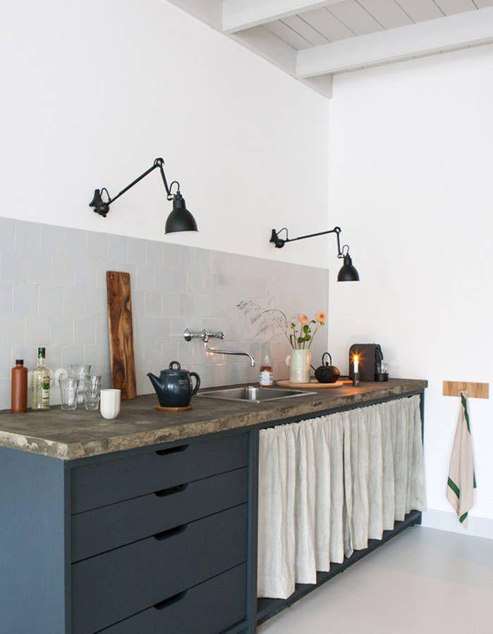 Les Meilleures Idées De La Catégorie Rideau De Placard Sur - Rideau coulissant pour meuble de cuisine pour idees de deco de cuisine