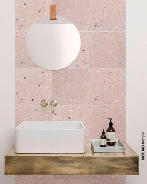Vintage Pink Bathroom Ideas Blackbathroomdesigns Bathroom Wall Tile Pink Bathroom Tiles Bathroom Interior Design