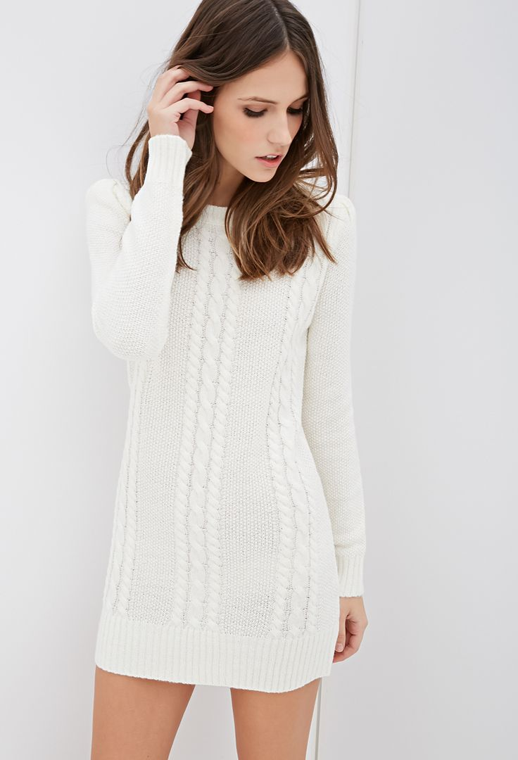 Best 25  Cable knit sweater dress ideas on Pinterest | Classy ...