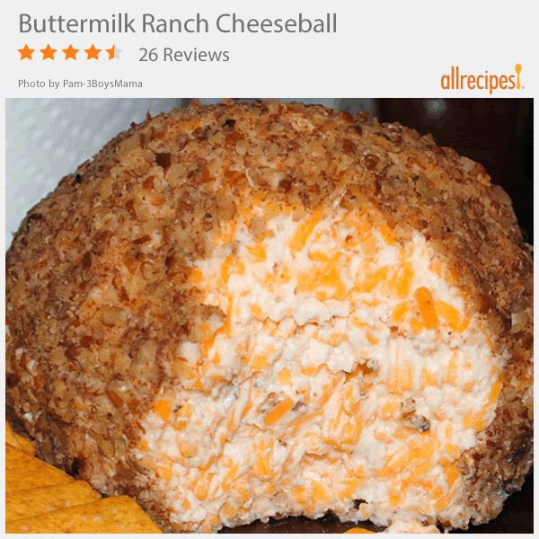 """Buttermilk Ranch Cheeseball 
