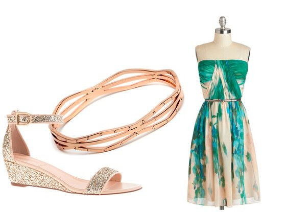 Beach Wedding from What to Wear to Every Wedding: A Style Guide for Guests | E! Online