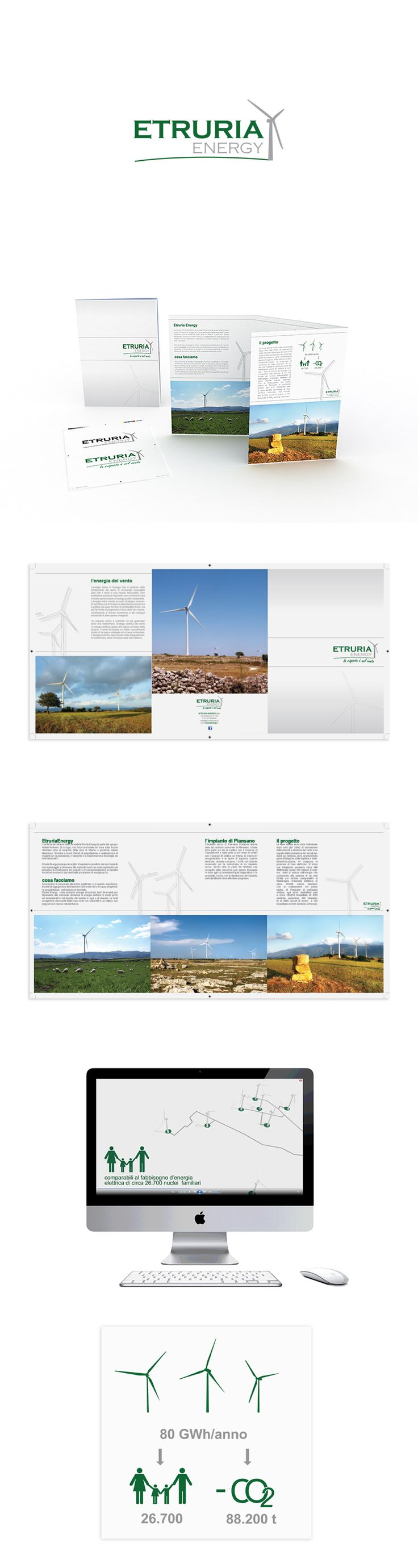 Etruria Energy, Brand Design ─ Giulio Patrizi Design Agency ©   #branding #brand #identity #corporate #graphic #design