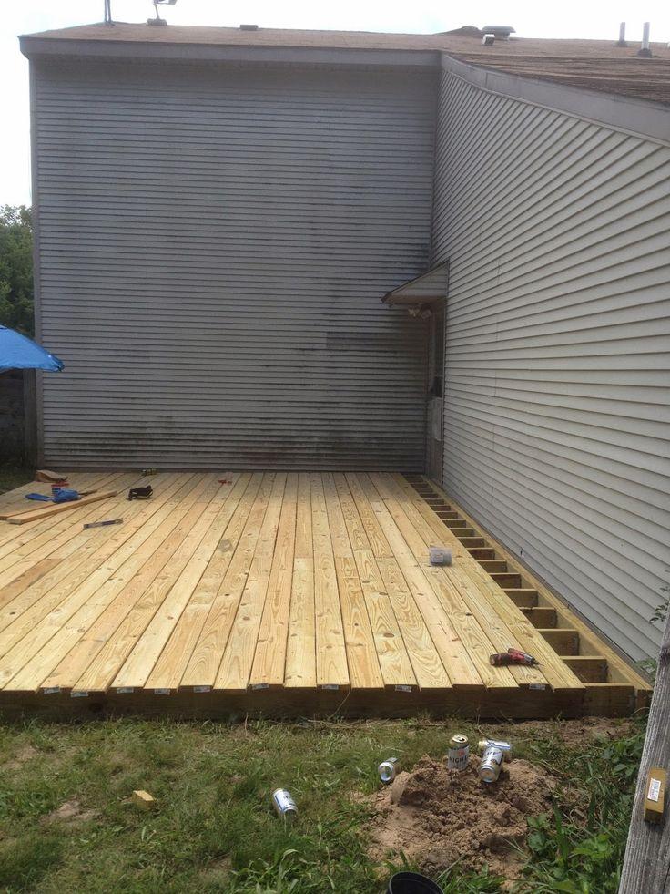 Best 25+ Ground level deck ideas on Pinterest   Wood patio ...