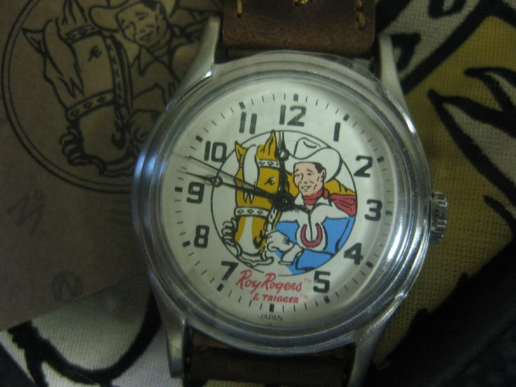 Got to get a new battery in my Roy Rogers watch and start wearing it again!