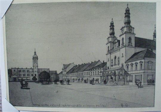 Masarykovo náměstí, po roce 1940-4