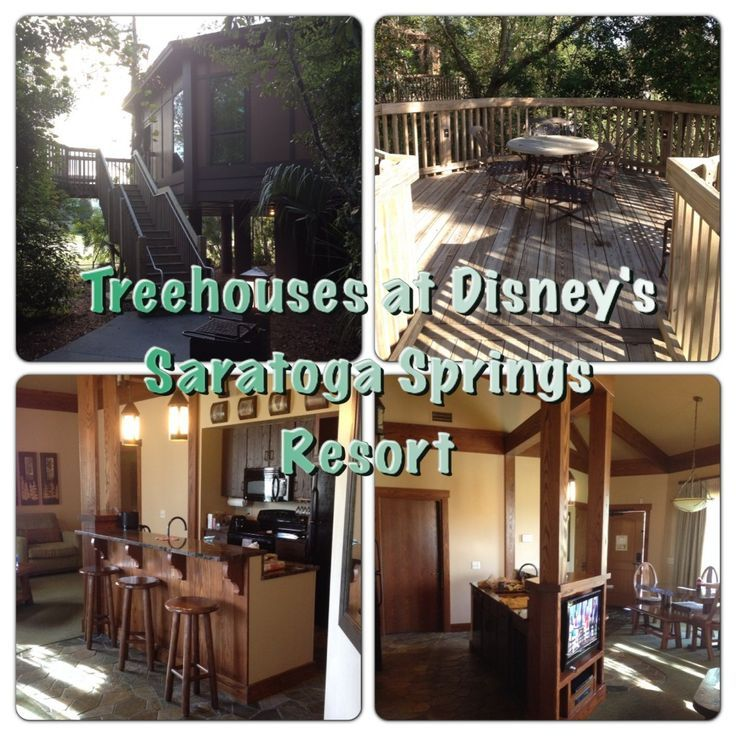 A review of the Treehouse Villas at Walt Disney World's Saratoga Springs Resort…