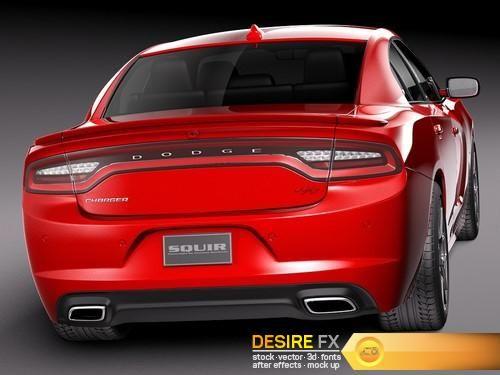 Dodge Charger 2015 3D Model  http://www.desirefx.me/dodge-charger-2015-3d-model/
