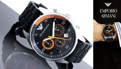 The Only Time When A Watch Is Beautiful Is When It Is Men Armani.