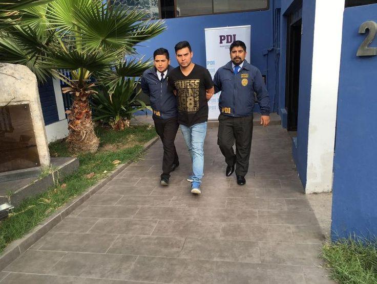 Detuvieron a un hombre que abusó de una detective afuera de un cuartel de la PDI en Iquique