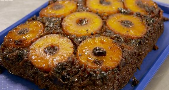 Tom Kerridge pineapple upside down cake recipe on Tom Kerridge's ...